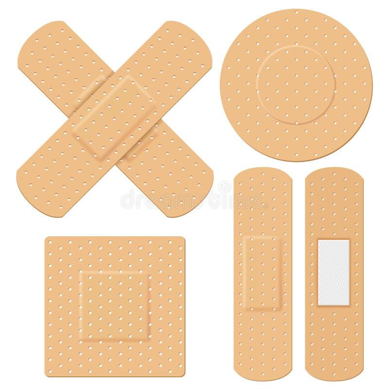 Bandage médical illustration stock