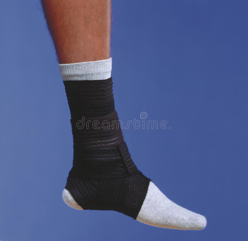 Free Bandage Wrapped Ankle Stock Images - 14823504