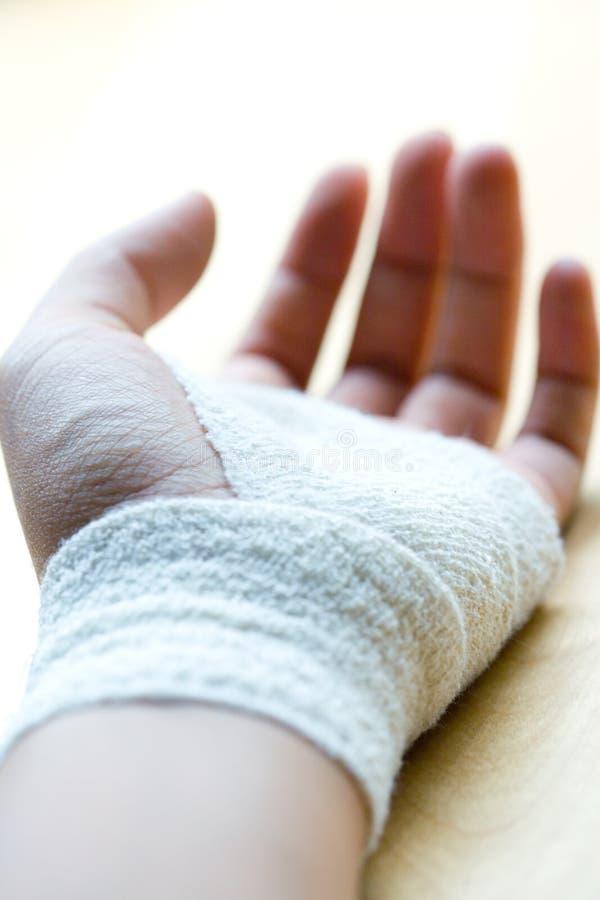 Download Bandaged Wrist Resting Stock Photo - Image: 7158020