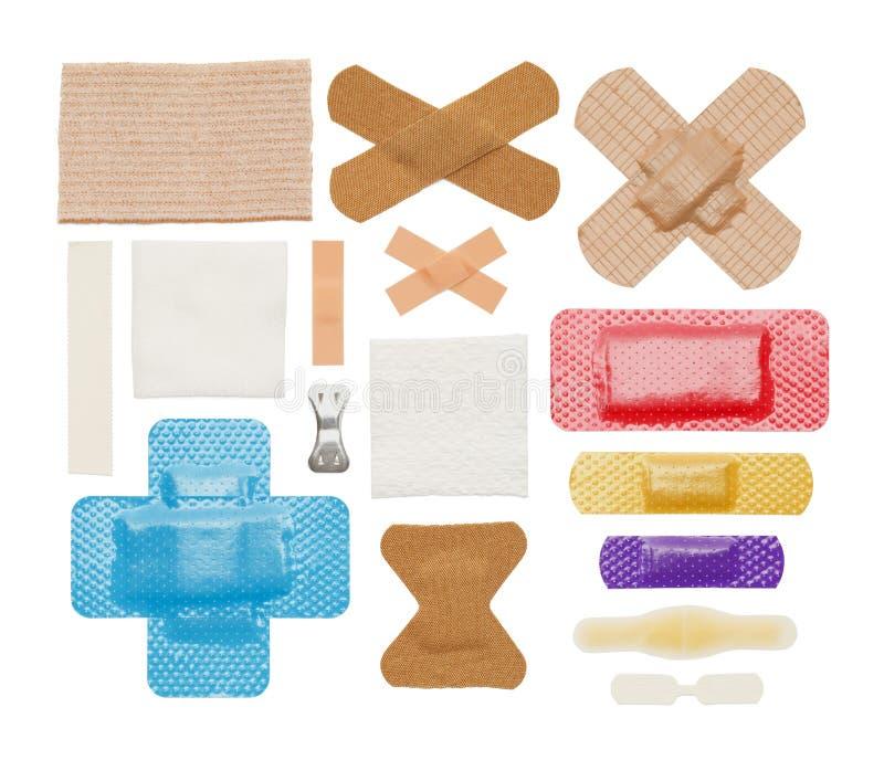 Bandages royalty free stock photos