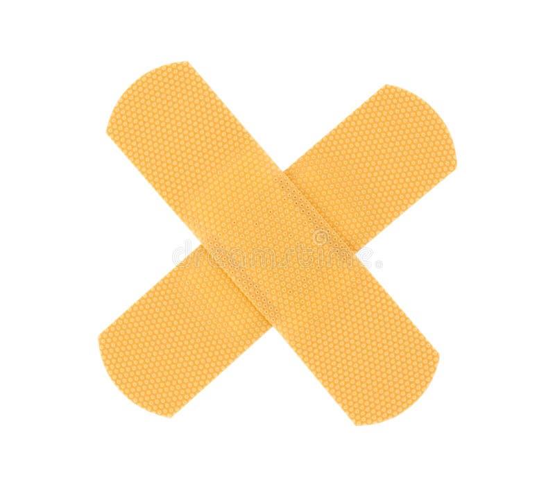 bandaid крест стоковая фотография