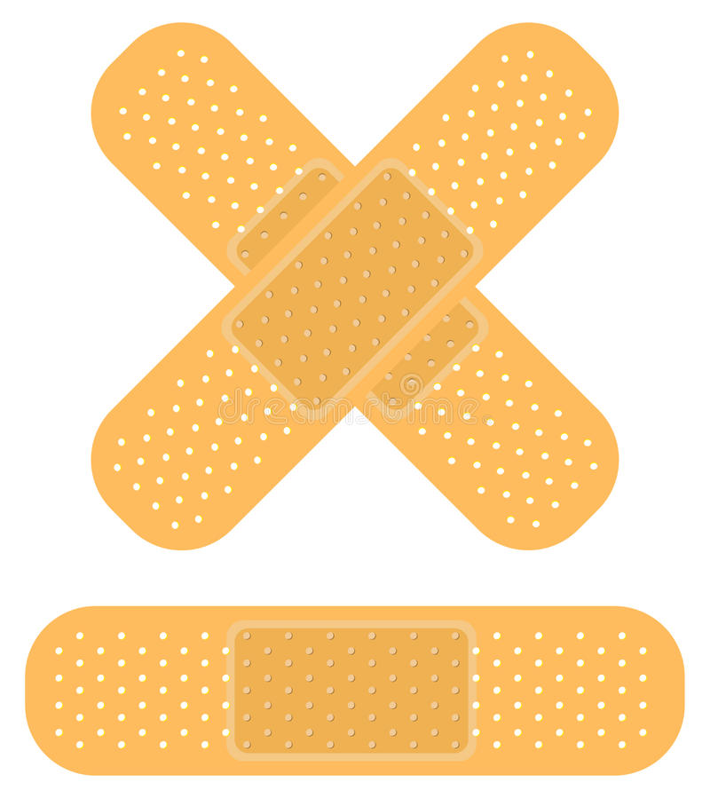Download Bandaid On White Royalty Free Stock Image - Image: 16889146