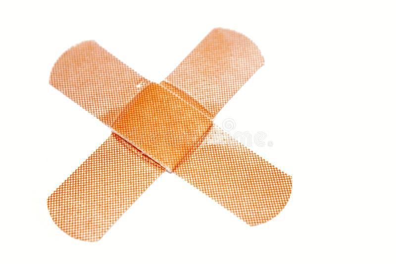 bandaids royaltyfria bilder