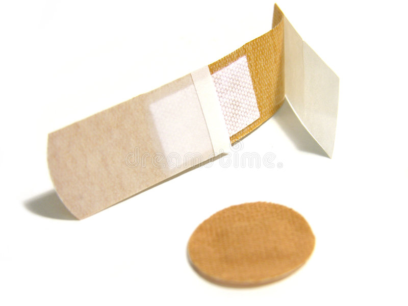 Bandaids stock photos