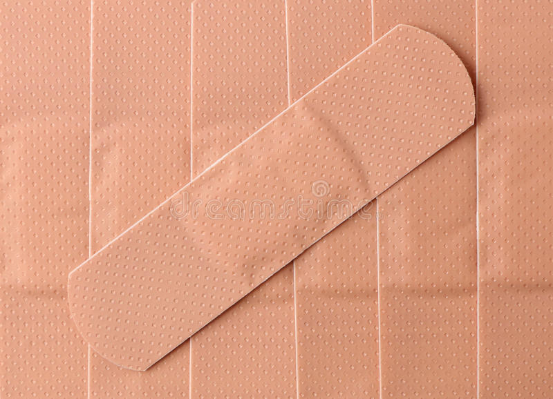 Bandaids/Plasters royalty free stock images