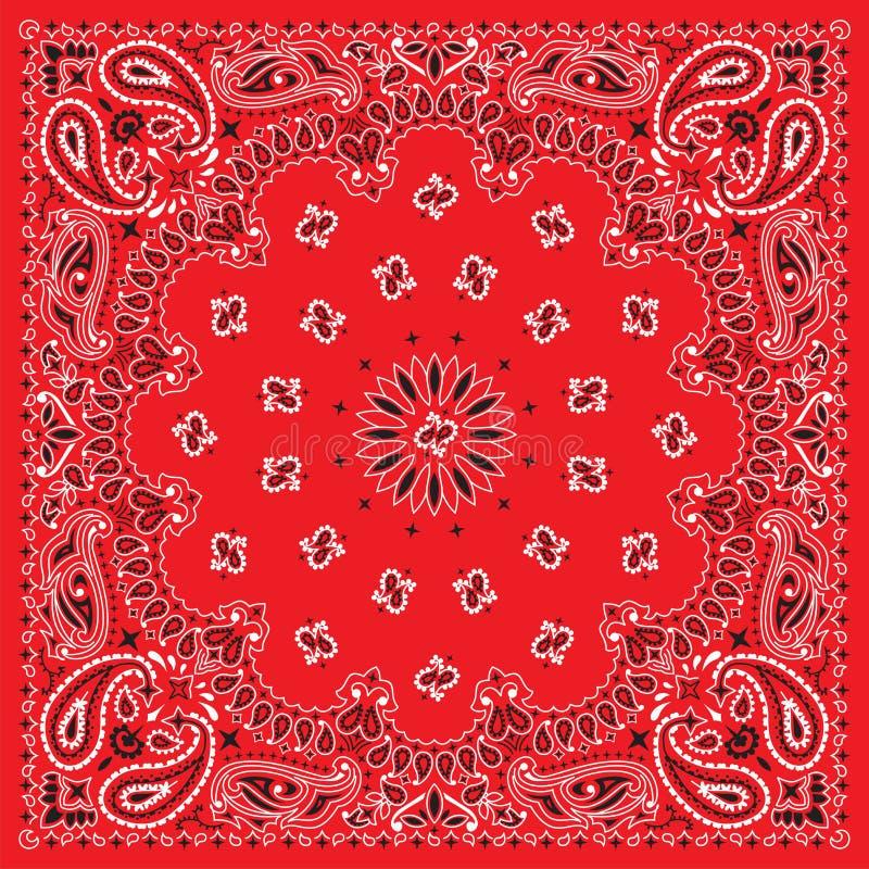 bandana цветастый
