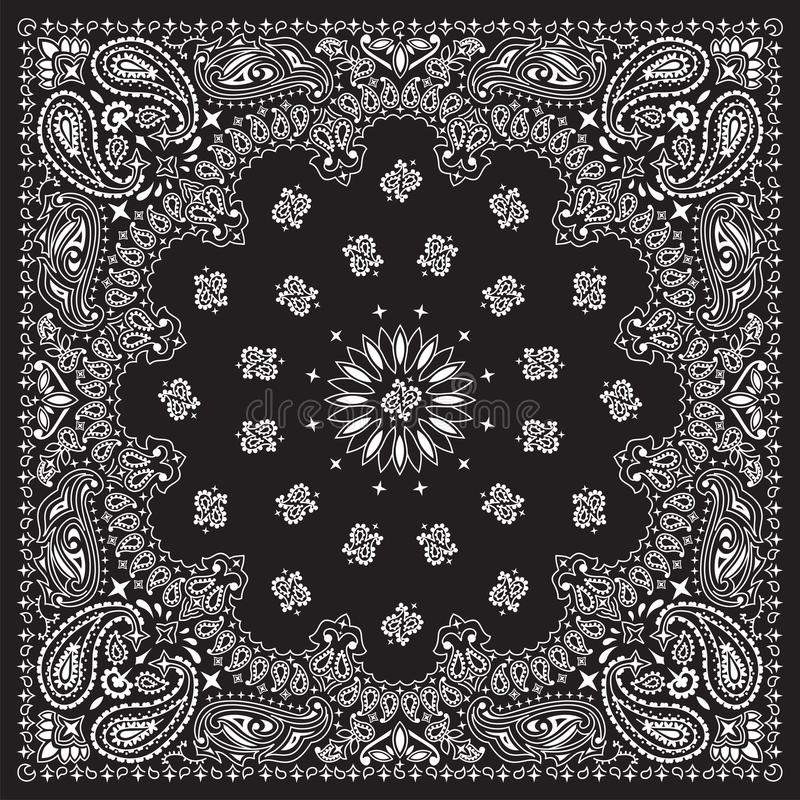 bandana-preto ilustração do vetor