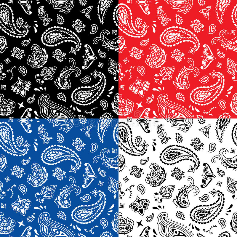 Free Bandana Seamless Pattern Stock Photos - 67478463