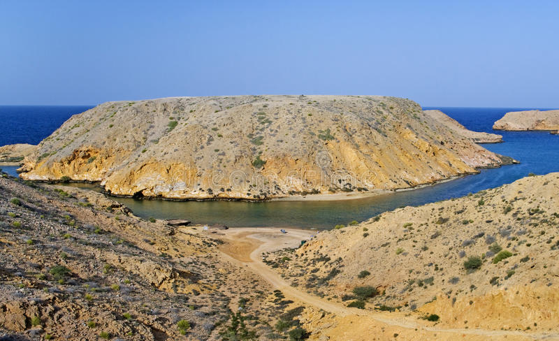 Bandar Khairan, Oman royalty free stock photography