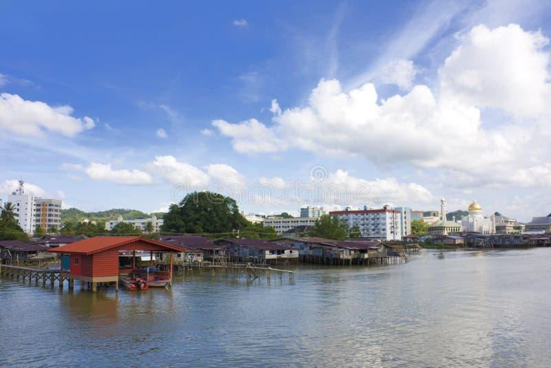 Bandar Seri begawan, Brunei foto de stock