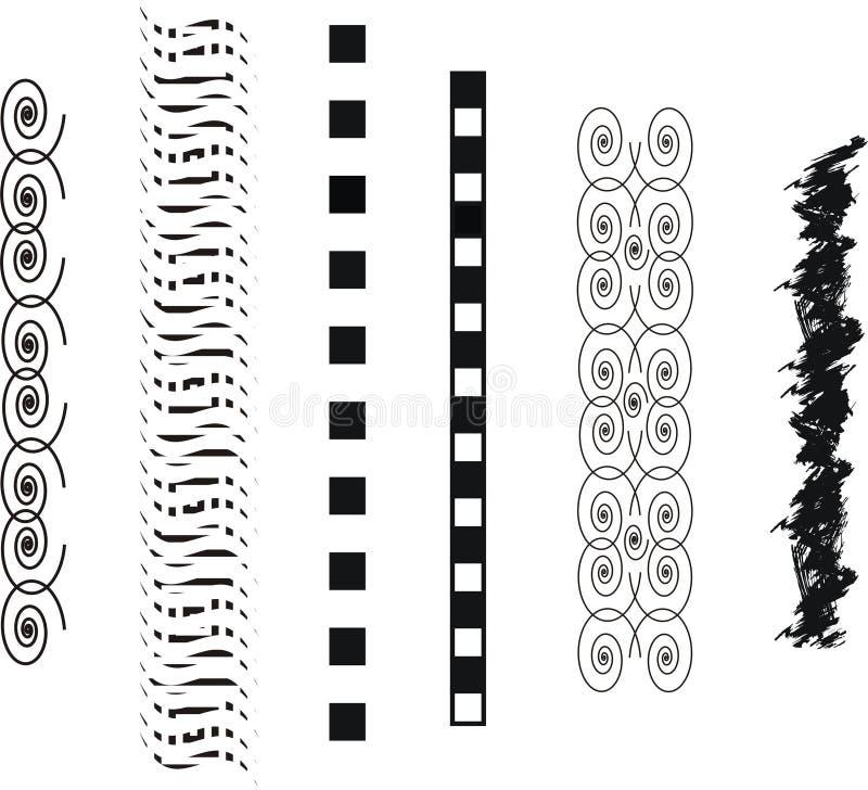 Bandas del tatuaje del arte del vector stock de ilustración