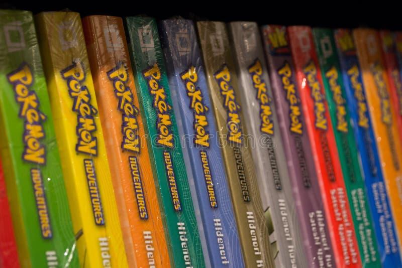 Bandas desenhadas de Pokemon fotos de stock royalty free
