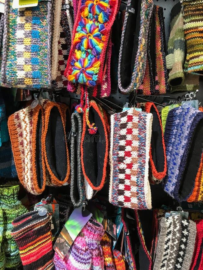 Bandas principales de lana foto de archivo libre de regalías