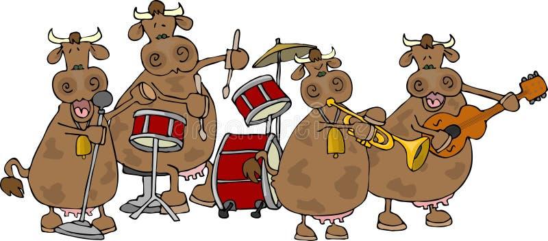 bandcowgirl stock illustrationer