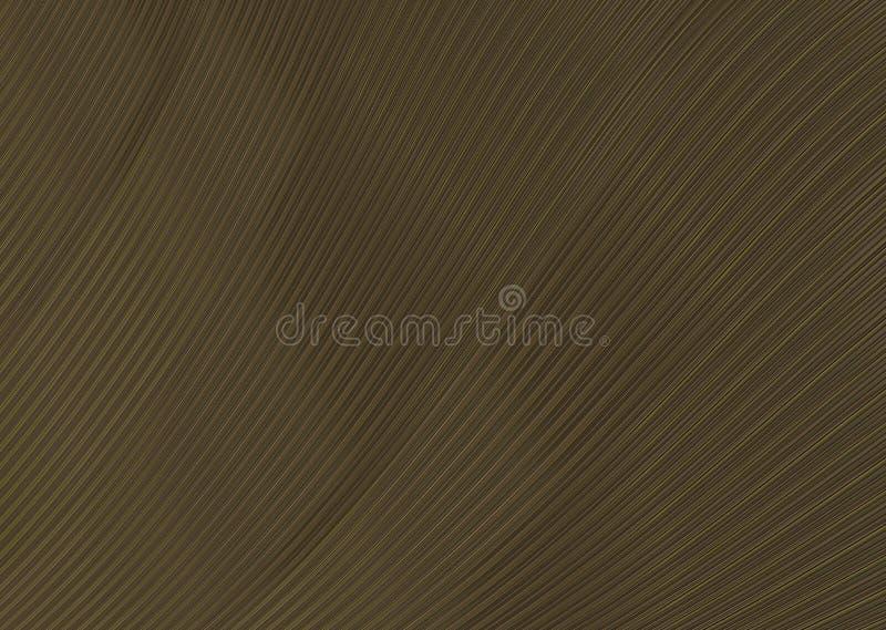Bande étroite d'acajou de couleur de brun de vague de texture de fond illustration libre de droits