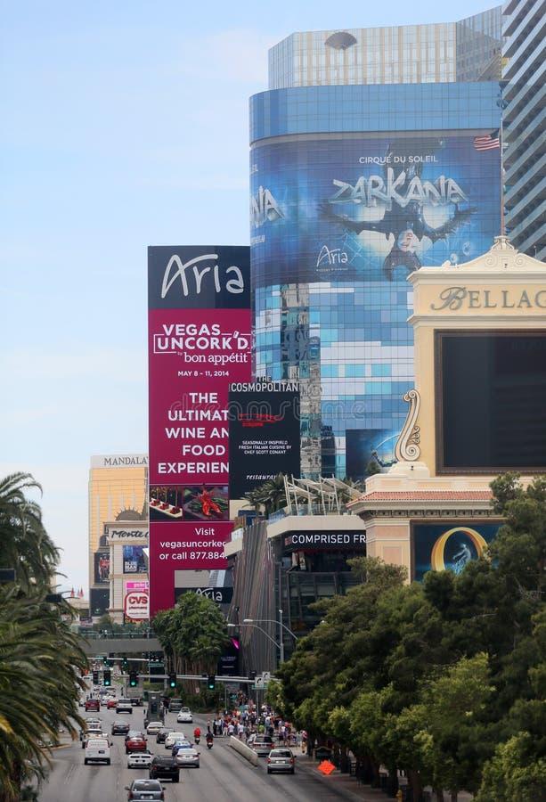 Bande célèbre de Las Vegas photos stock