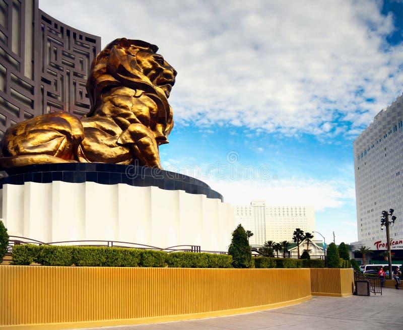 Bande célèbre de Las Vegas, attractions, boulevard, Nevada, Etats-Unis photographie stock libre de droits