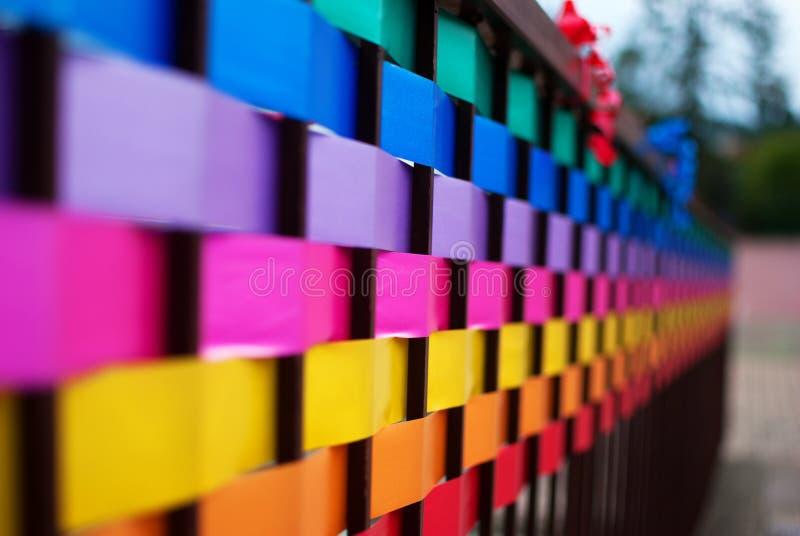 Bande colorée images libres de droits
