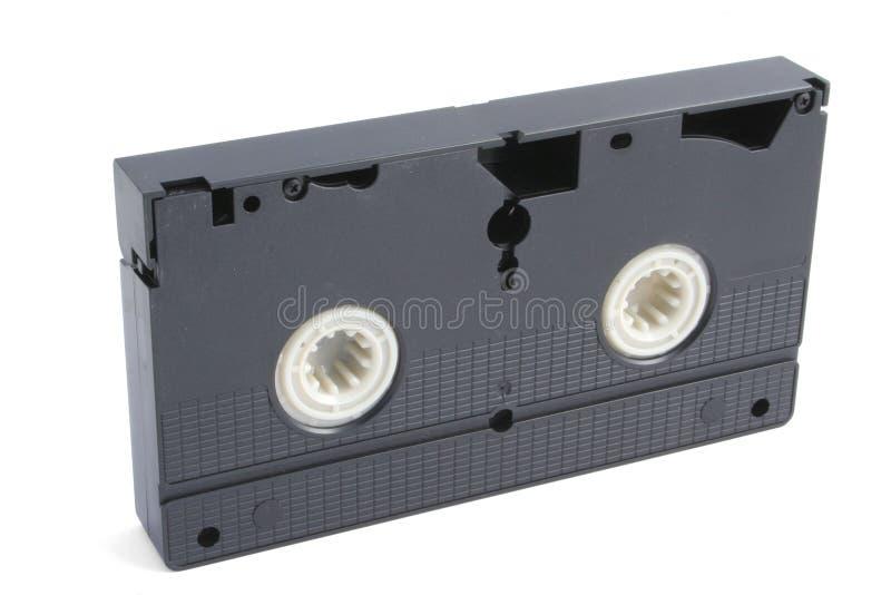Bande d'isolement de VHS sur le blanc photo stock