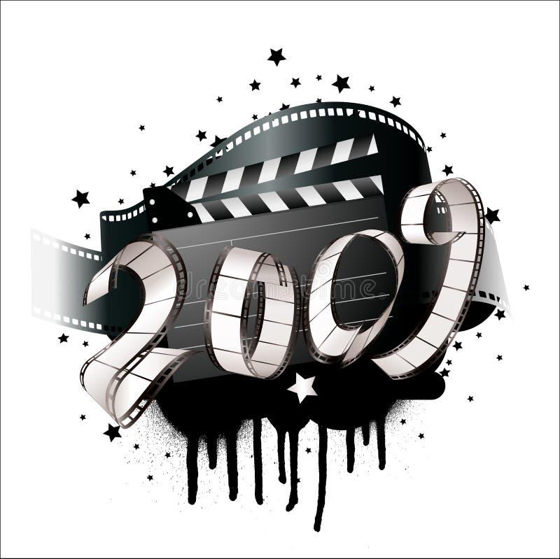 bande de 2009 films illustration de vecteur