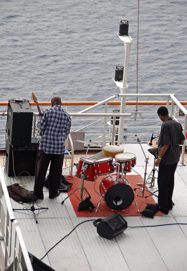 Bande de bateau de croisière photographie stock libre de droits