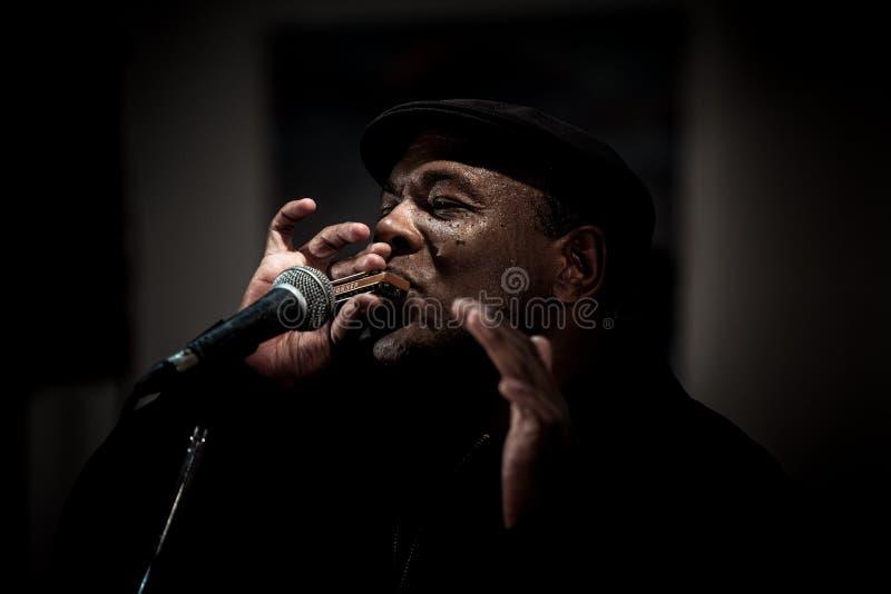 Bande de bleus de Keith Dunn et du train quatre - jazz à Kiev image libre de droits