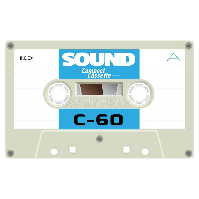 Bande de cassette sonore illustration de vecteur
