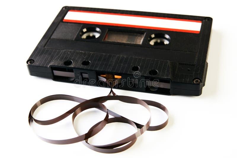 Bande de cassette sonore avec la composition en film photo libre de droits
