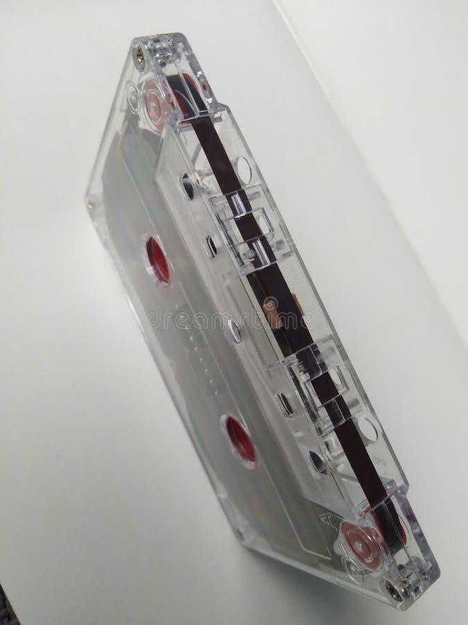 Bande de cassette sonore en position de position photos libres de droits