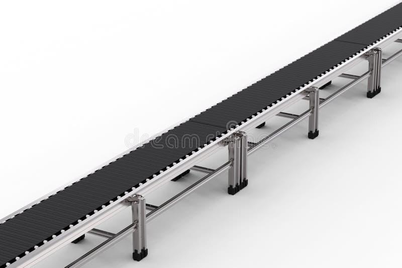 Bande de conveyeur en caoutchouc illustration stock