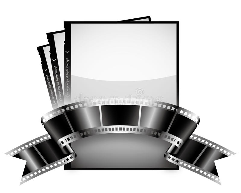 Bande de film illustration stock