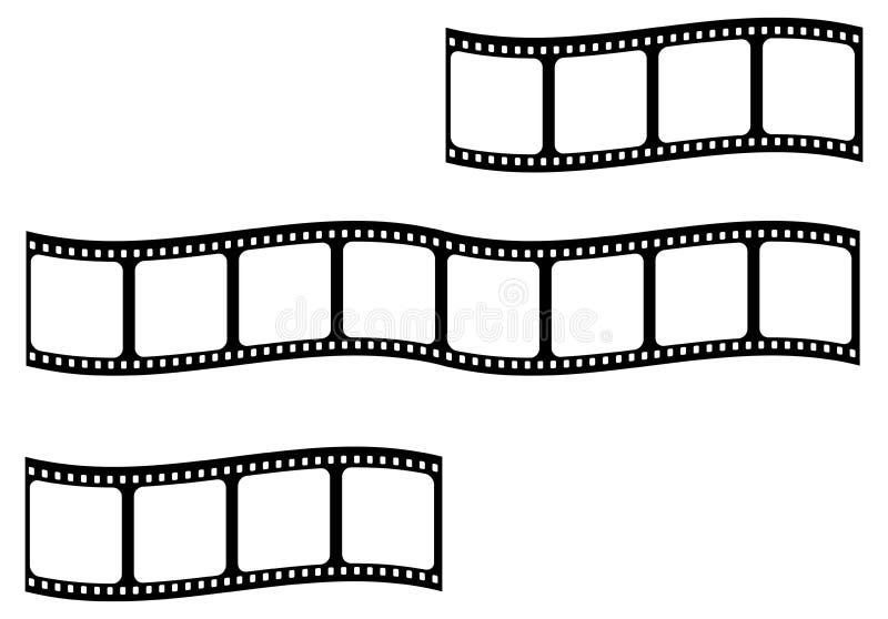 bande de film illustration de vecteur