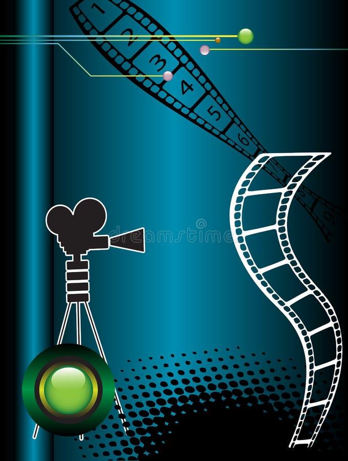 Bande de film abstrait illustration de vecteur