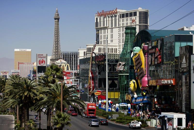 Bande de Las Vegas à la journée images stock