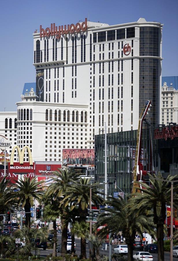 Bande de Las Vegas à la journée, verticale photo libre de droits