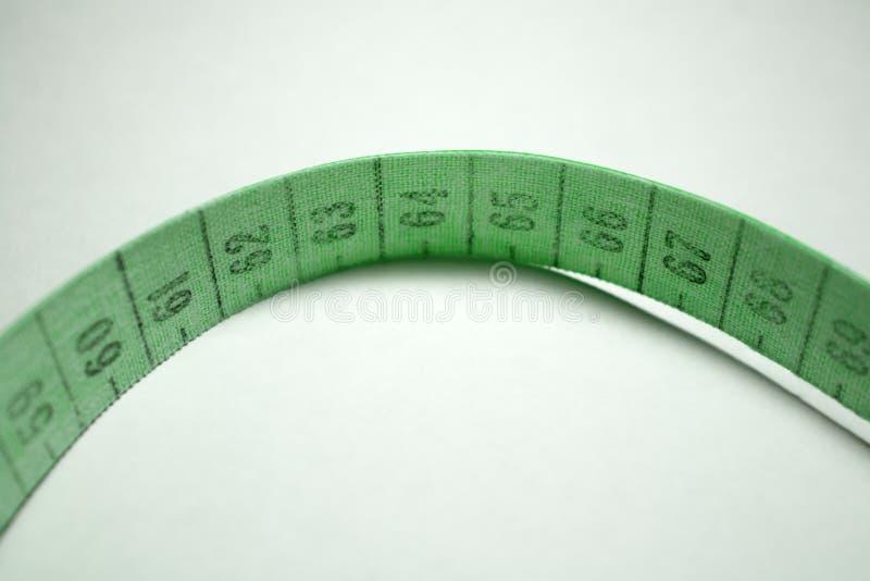 Bande de mesure Vert images libres de droits