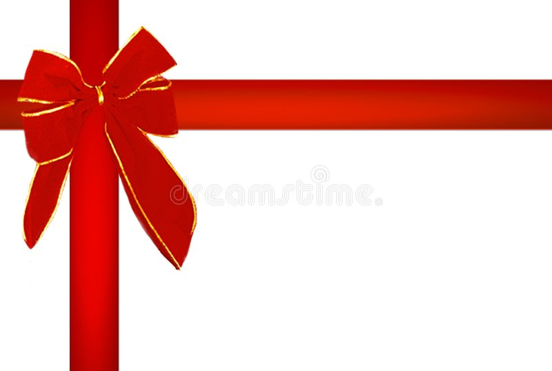 bande de rouge de Noël illustration de vecteur
