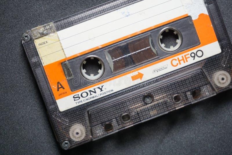 Bande de Sony Cassette image stock