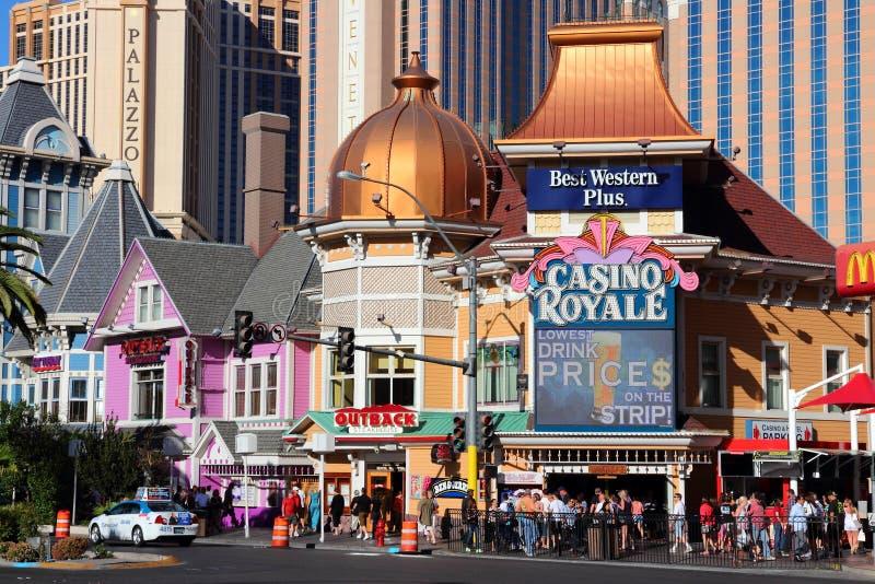 Bande de Vegas photographie stock libre de droits