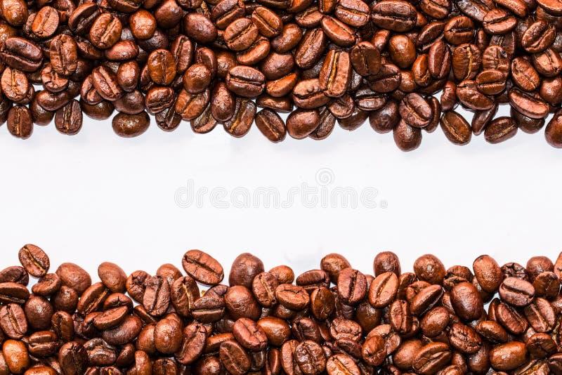 Bande dei chicchi di caffè immagini stock libere da diritti