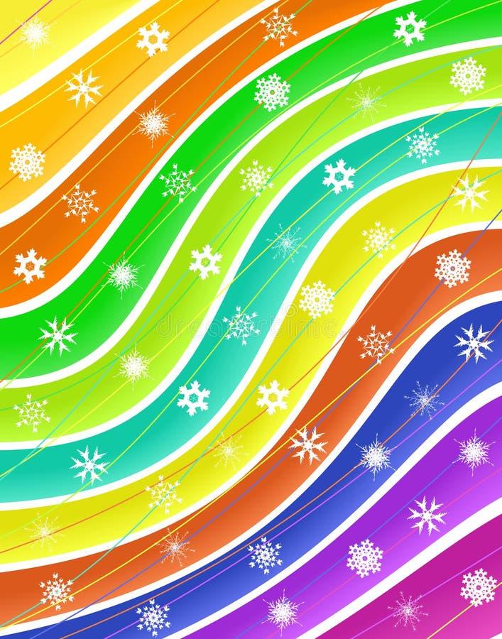 Bande della neve illustrazione vettoriale