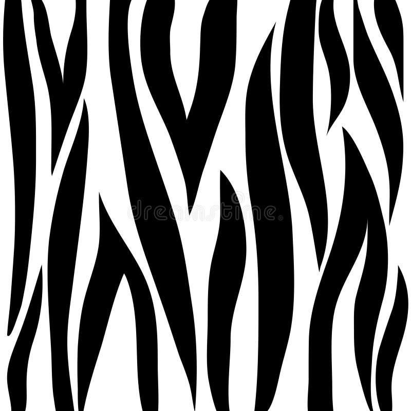 Bande della zebra illustrazione di stock
