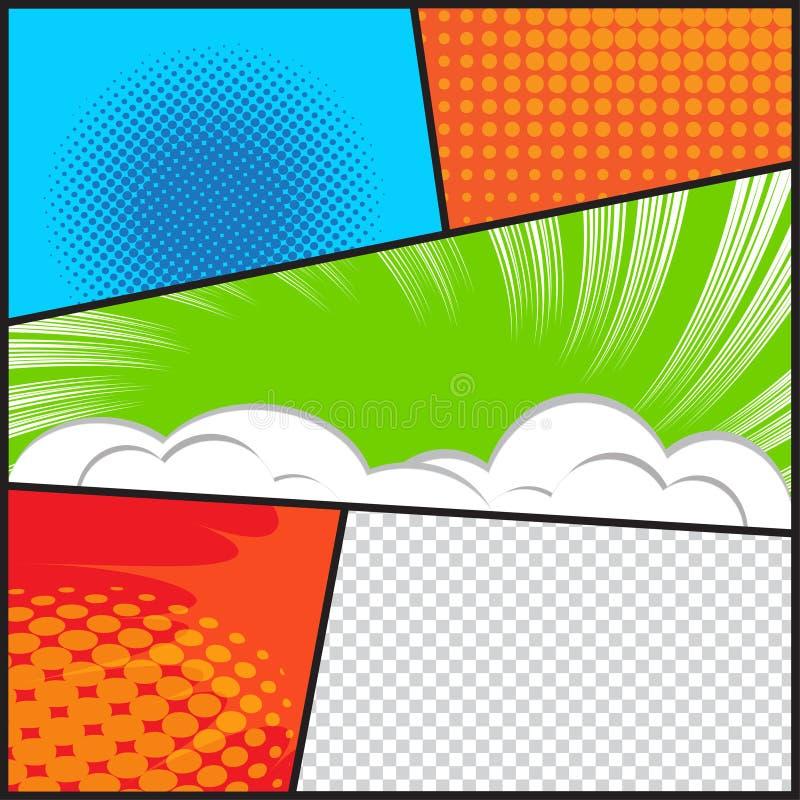 Bande dessinée images stock