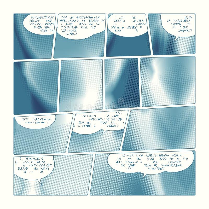 Bande dessinée illustration libre de droits