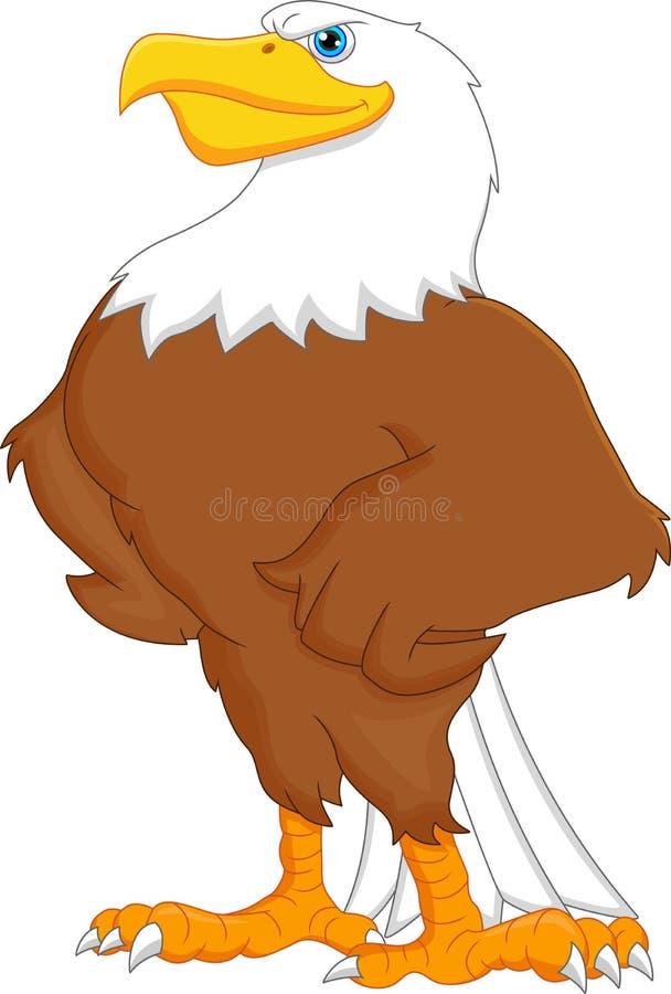 Bande dessinée d'Eagle illustration libre de droits