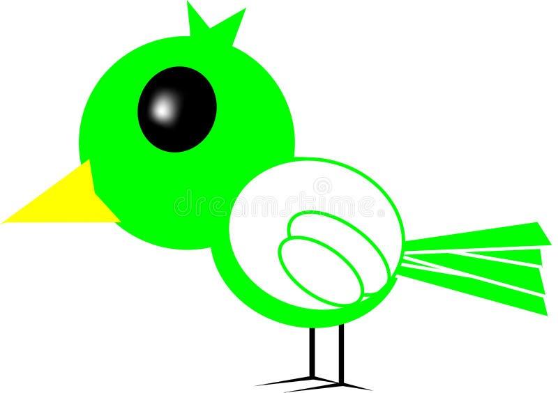 Bande dessinée d'oiseau image stock