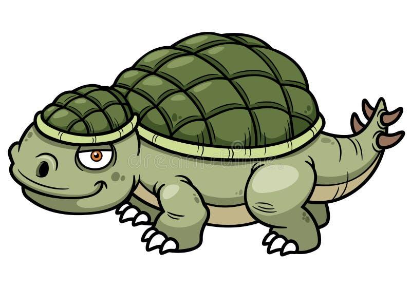 Bande dessinée de dinosaure illustration libre de droits