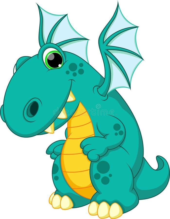Bande dessinée de dragon