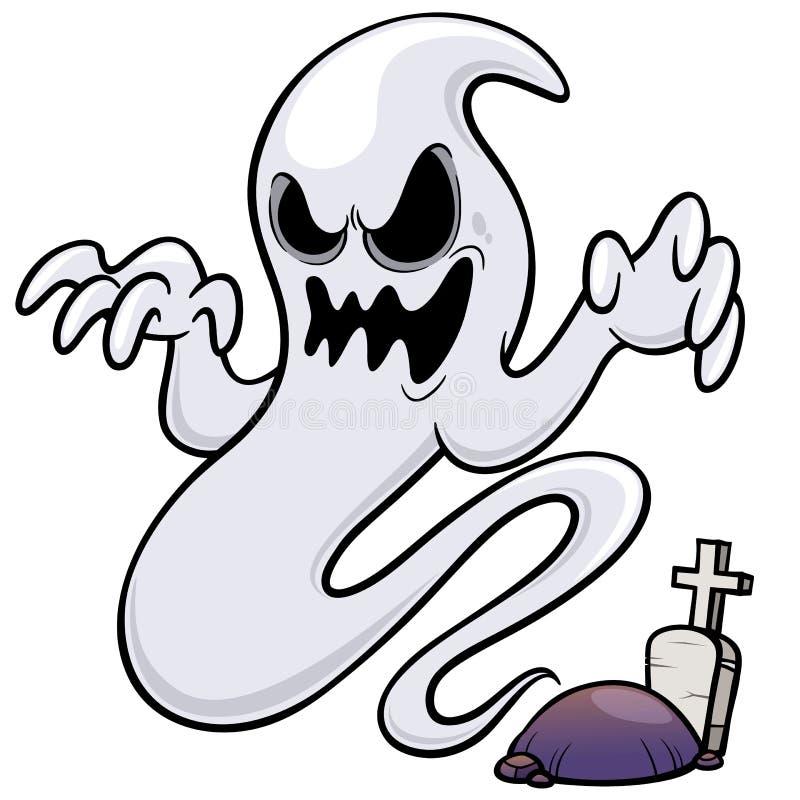 Bande dessinée de Ghost illustration de vecteur