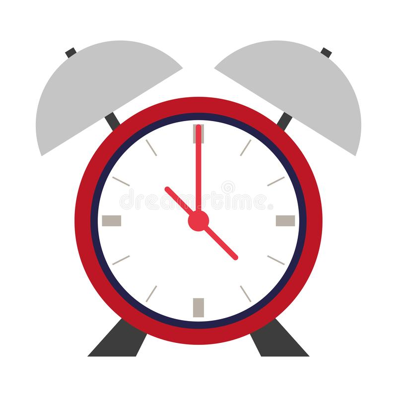 Bande dessinée de montre de horodateur rétro illustration de vecteur